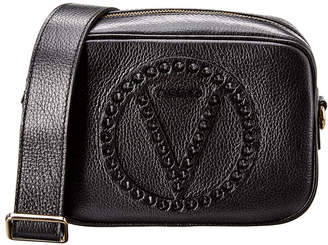 Mario Valentino Valentino By Mia Rock Dollaro Studs Leather Crossbody