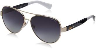 Ralph Lauren by Ralph by Women's 0RA4114 Polarized Round Sunglasses