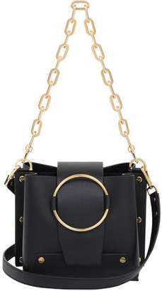 Yuzefi Limited Delila Leather Ring Bucket Bag