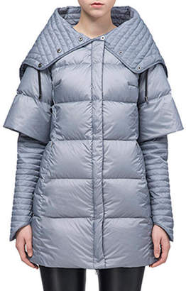 "Snowman New York Multi-Wear Down Coat ""Surreal"""