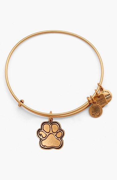 Alex and Ani 'Charity by Design - Prints of Love' Expandable Wire Bangle