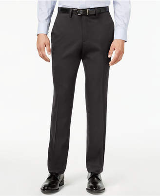 Kenneth Cole Reaction Men's Slim-Fit Stretch Gabardine Dress Pants