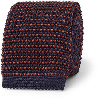 Loro Piana 6cm Knitted Silk Tie