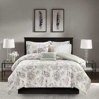 Co Darby Home McArthur Cotton Sateen Duvet Cover Set