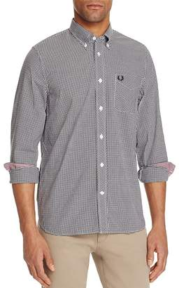 Fred Perry Gingham Slim Fit Button-Down Shirt