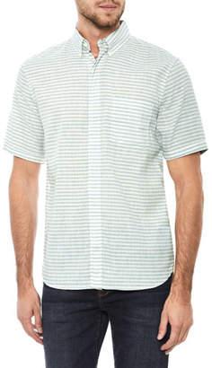 Joe's Jeans Men's John Striped Short-Sleeve Sport Shirt