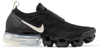 Nike Air Vapormax Moc 2 Flyknit Sneakers - Black