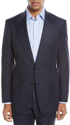 Tom Ford Windsor Melange Striped Two-Piece Wool Suit