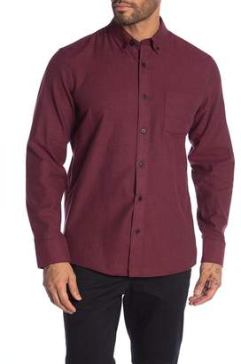 Nordstrom Slim Fit Brushed Twill Sport Shirt