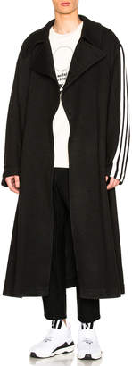 Yohji Yamamoto Y 3 Tailored Wool Coat