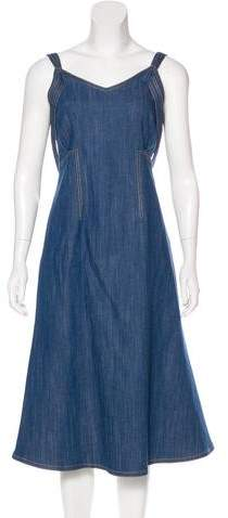 ADAM by Adam Lippes Denim Maxi Dress