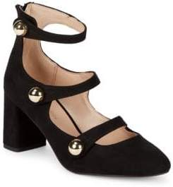BCBGeneration Bernadette Microsuede Mary Jane Shoes
