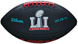 Wilson NFL Super Bowl 51 Junior Rubber Football