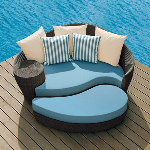 Barlow tyrie dune daybed and ottoman