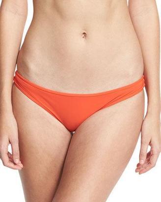 Diane von Furstenberg Classic Bikini Swim Bottom, Red $90 thestylecure.com