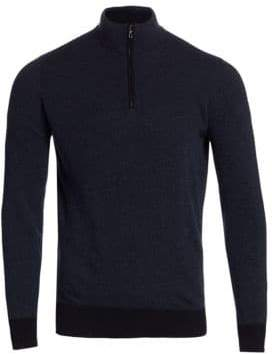 Loro Piana Roadster Cashmere Half Zip Sweater