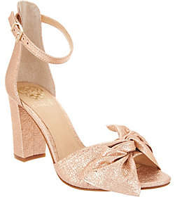 Vince Camuto Leather Ankle Strap Sandals- Carrelen
