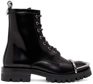 Alexander Wang Black London Box Boots