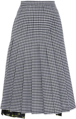 N°21 N 21 Lia Pleated Midi Skirt