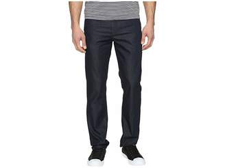Perry Ellis Slim Fit Dark Indigo Denim in Medium Indigo Men's Jeans