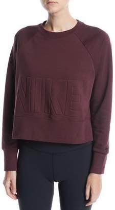 Nike Versa Cropped Training Sweatshirt