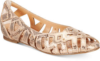 Thalia Sodi Zuly Huarache Ballet Flats, Created for Macy's Women's Shoes