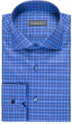 Stefano Ricci Plaid Dress Shirt