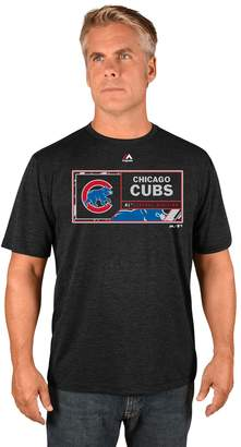 Majestic Men's Chicago Cubs Division Dominator Synthetic Tee
