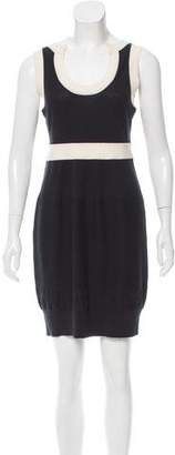 Peter Som Two-Tone Knit Dress