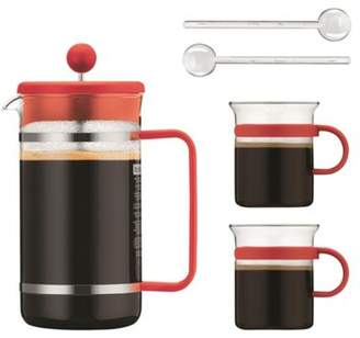 Bodum Bistro Orange 8 Cup Cafetiere