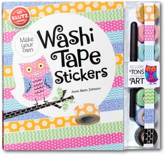 Your Own Klutz Make Washi Tape Stickers