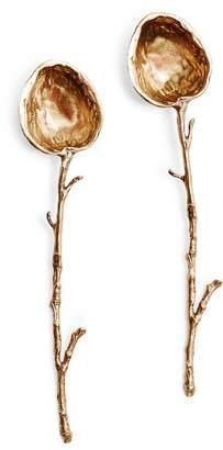 ABC Home Bronze Walnut Spoon Set