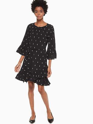 Kate Spade Penguin crepe dress