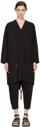 Alexander Wang Black Twill Coat