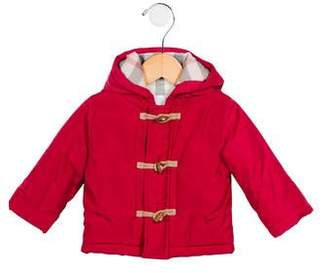 Burberry Girls' Hooded Puffer Jacket