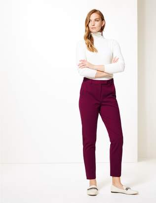 Marks and Spencer Slim Leg Ankle Grazer Trousers