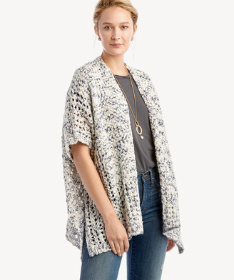 Sole Society Women's Marled Cocoon Wrap Cream Multi One Size Cotton Acrylic From