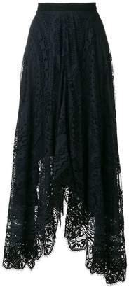 Chloé lace maxi skirt