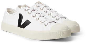 Veja Wata Rubber-Trimmed Organic Cotton-Canvas Sneakers - Men - White