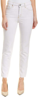 IRO Light Pink High-Rise Skinny Ankle Cut
