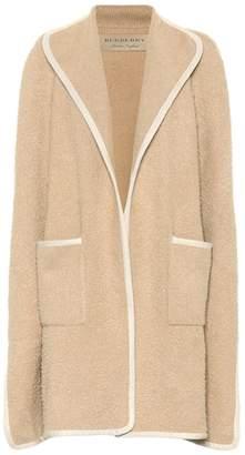 Burberry Wool cape coat
