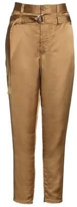 Robert Rodriguez Belted Satin Pants