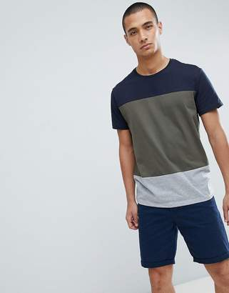 Kiomi T-Shirt With Colour Block