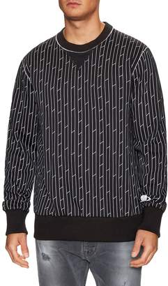 Vivienne Westwood Men's Printed Cotton Crewneck Sweatshirt