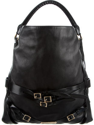 Burberry Burberry Smooth Leather Hobo