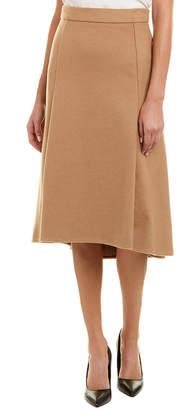 Escada Camel A-Line Skirt