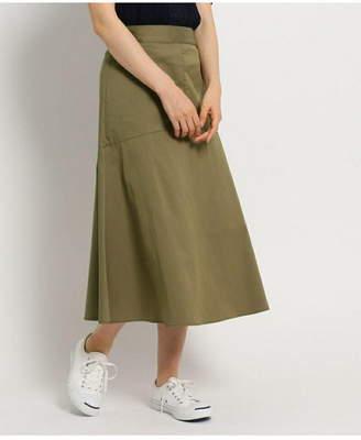 Dessin (デッサン) - Dessin(Ladies) ツイルストレッチミディスカート デッサン スカート