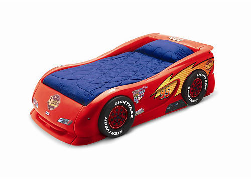 Little Tikes Disney Pixar's Cars the Movie Lightning McQueen Sports Car Twin Bed