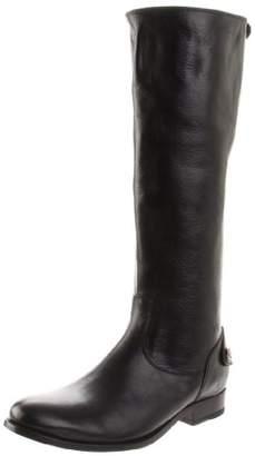 FRYE Women's Melissa Button Back-Zip Boot $149 thestylecure.com