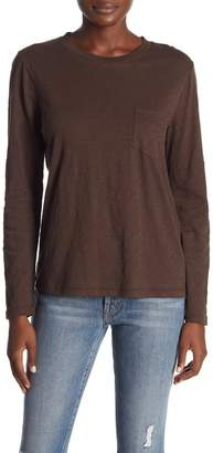 Madewell Long Sleeve Crew Neck Tee